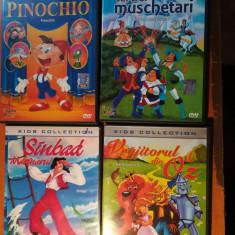 Desene animate: $ DVD-uri Kids collection(vezi foto si descriere )