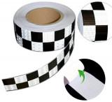 Banda reflectorizanta tip fagure TAXI 6cm x 25m CH, Oem