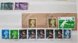 Lot 34 timbre Marea Britanie, Tanger, Gibraltar, stampilate deparaiate