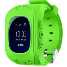 Ceas cu GPS Tracker si Telefon pentru copii iUni Kid60, Bluetooth, Apel SOS, Activity and sleep, Verde