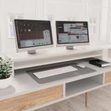 Suport monitor, alb, 100 x 24 x 13 cm, PAL