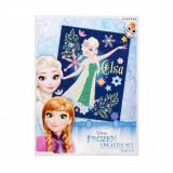 Set creativ cu paiete Starpak, Disney Frozen