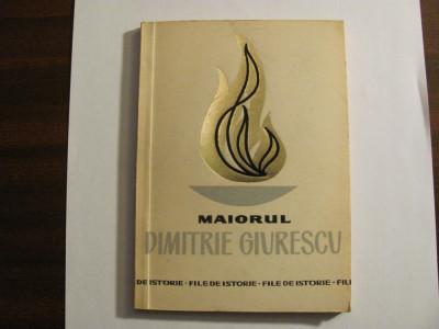 "CY - Maior Vasile I. MOCANU ""Maiorul Dimitrie Giurescu"" foto"