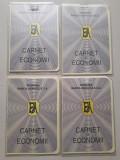 4 carnet economii Banca Agricola 1996