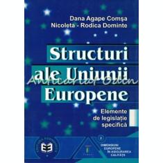 Structuri Ale Uniunii Europene - Dana Agape Comsa, Nicoleta-Rodica Dominte