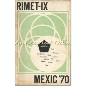 Rimet IX - Mexic 70 - Gh. Derevencu, A. Anastasescu, G. Ionescu