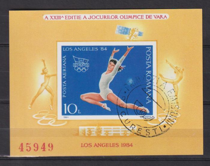 OLIMPICELE  DE VARA LOS ANGELES   LP.1106 STAMPILAT