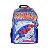 Cumpara ieftin Ghiozdan clasa 0 Pigna Spiderman albastru-multicolor SMRS1942-1