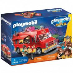 Playmobil The Movie - Camionul cu mancare al lui Del