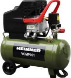 Compresor de aer Heinner VCMP001, 24 L, 2 CP, 8 BAR