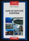 Jean-Luc Sauron - Curs de instituții europene: puzzle-ul european (Polirom, 2010