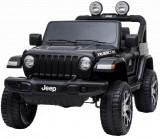 Cumpara ieftin Masinuta electrica 4x4 Premier Jeep Wrangler Rubicon, 12V, roti cauciuc EVA, scaun piele ecologica, negru