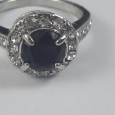 Inel Crystal Black
