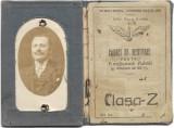 Carnet de identitate pentru funcționari publici CFR 1923