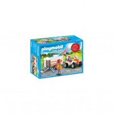 Playmobil City Life - Medic cu ATV si remorca