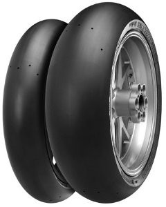 Motorcycle Tyres Continental ContiTrack ( 200/55 R17 TL Roata spate, Mischung Mediu, NHS ) foto