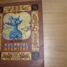 VULPOIUL  DEGHIZAT  (Ed. Veselka - Kiev, rara,ilustrata color, format mai mare )