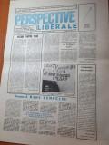 Ziarul perspective liberale 10 aprilie 1990-interviu radu campeanu