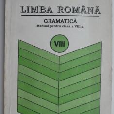 Limba romana. Gramatica (Manual pentru clasa a VIII-a) – Ion Popescu