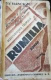 Mărturisirea trupului. Rumilia, D. V. Barnoschi 1934 semnatura autorului