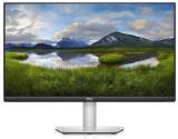 Monitor IPS LED Dell 27inch S2721QS, UHD (3840 x 2160), Boxe, HDMI, DisplayPort, Pivot (Negru/Argintiu)