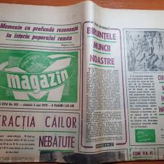 magazin 5 mai 1973-interiu cu sergiu nicolaescu despre filmul ultimul cartus