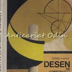 Desen De Constructii Si Instalatii - A. Coliu, C. Tsicura