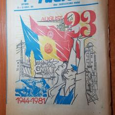 Revista radio-tv saptamana 23-29 august 1981