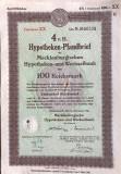 100 Reichsmark titlu de stat Germania 1941