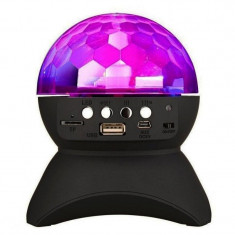 Boxa bluetooth tip glob rotativ L-740, USB, MP3, micro SD