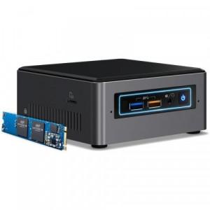 Mini PC Intel (NUC) Next Unit of Computing NUC7I5BNHXF, Intel Iris Plus Graphics 640, Intel Optane 16GB, Intel Core i5-7260U, RAM 4GB, HDD 1TB, Window