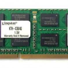 Memorie ram sodimm Kingston 4Gb DDR3 1333Mhz PC3-10600S,1.5V- KTH-X3B/4G