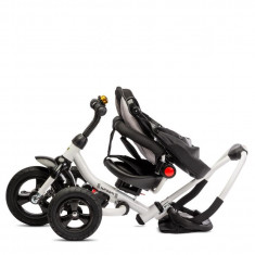 Tricicleta pliabila cu scaun reversibil Toyz by Caretero Wroom Red