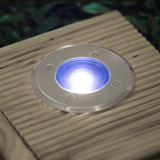 Lampa incastrabila rezistenta la pasi, model circular Best CarHome