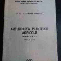 Ameliorarea Plantelor Agricole Lucrari Practice - Alexandrina Dornescu ,544579