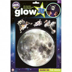 Abtibilduri 3D reflectorizante, Luna