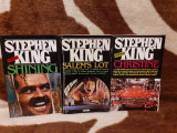 SALEM'S LOT/SHINING/CHRISTINE-STEPHEN KING (3 VOL)