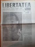 Ziarul libertatea 1 septembrie 1990-art g. v. birlic,festivalul de la mamaia
