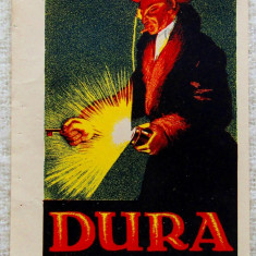 Lanterne Dura, viitoarea Elba.Cromolitografie Imre Földes Feld-Timisoara 1923.