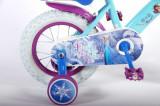Bicicleta copii Volare cu roti ajutatoare 14 inch Frozen