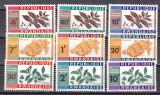 Rwanda  1963  fructe  MI  27-35    MNH  w63, Nestampilat