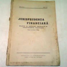 JURISPRUDENTA FINANCIARA NR.1/IULIE 1937