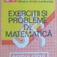Exercitii si probleme de matematica pentru clasele I-XII