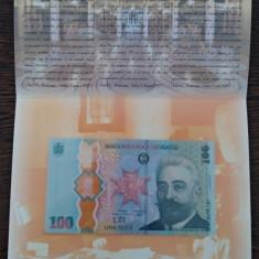 Bancnota 100 lei Marea Unire Ion I.C. Bratianu