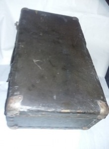 geamantan/valiza veche ECHT LEHNA VULKAN,valiza/cufar Antic,stare conform foto