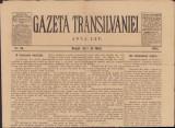 Z291 Ziarul Gazeta Transilvaniei din 2 mai 1902 Brasov