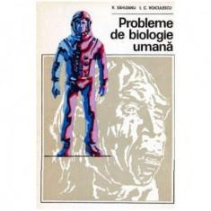 Probleme de biologie umana