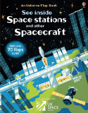 See Inside Space Stations and Other Spacecraft - Carte Usborne (6+)