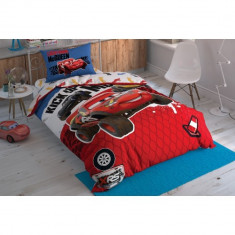 Lenjerie de pat TAC Cars Adventure Disney LC09 (Bumbac)