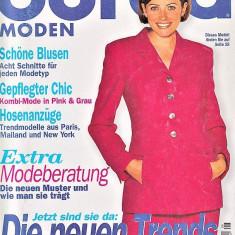 Burda revista moda croitorie insert in limba romana 55 tipare 8/1997